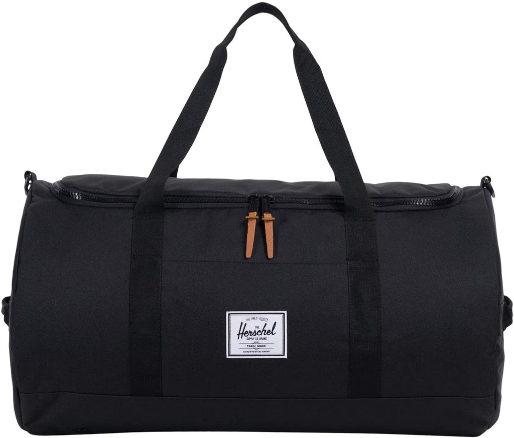 Herschel Sutton Duffel Bag, Black, Classic 46.5L | In-Stock, Ships Thursday