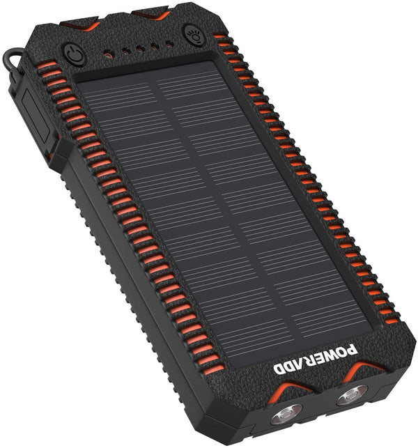 12000mAh Portable Solar Panel Power Bank | In-Stock, Ships Thursday