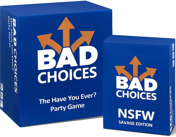 BAD CHOICES - The Have You Ever? Party Game | In-Stock, Ships Thursday