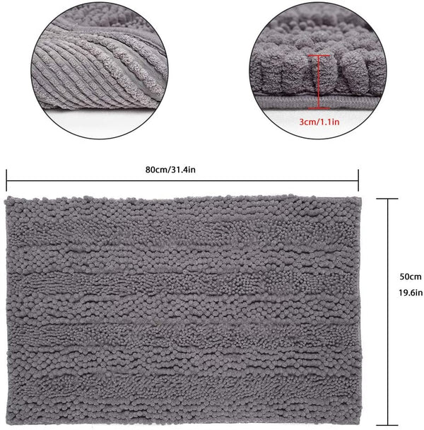 Ultra- Soft Chenille Bath Mat | In-Stock, Ships Thursday