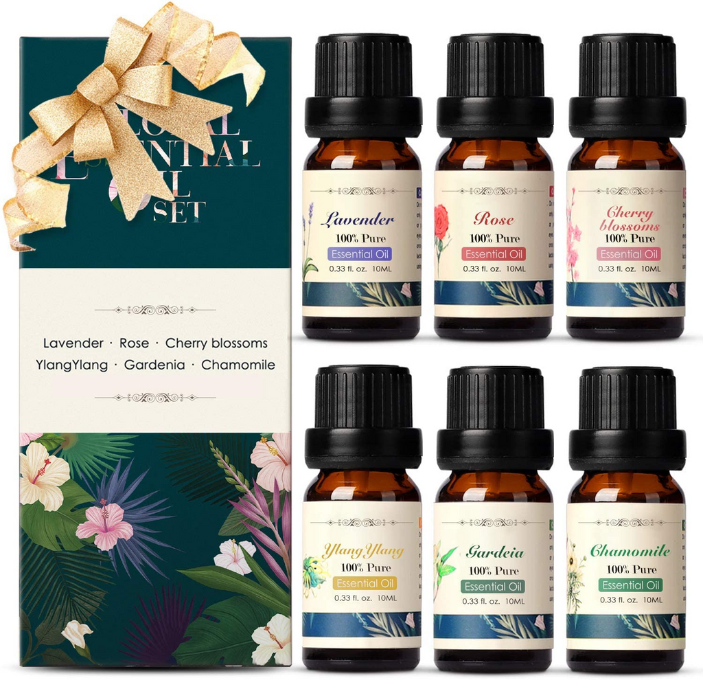Floral Essential Oils Set |  In-Stock, Ships Thursday