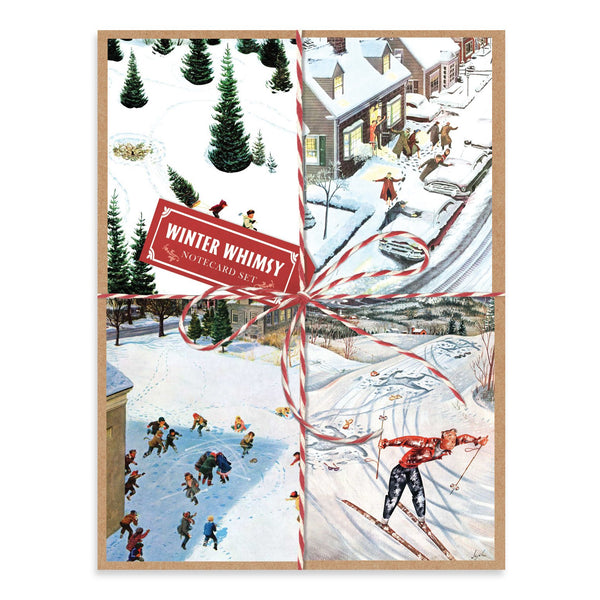 WINTER WHIMSY HOLIDAY NOTECARD SET | In-Stock, Ships Thursday