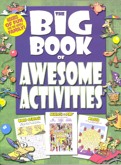 THE BIG BOOK BUNDLE (AWESOME ACTIVITIES/SEEK & FIND/SEARCH & FIND) |  In-Stock, Ships Thursday