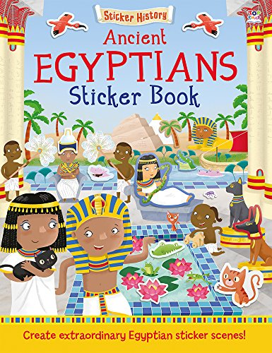 ANCIENT EGYPTIANS STICKER BOOK (STICKER HISTORY) |  In-Stock, Ships Thursday
