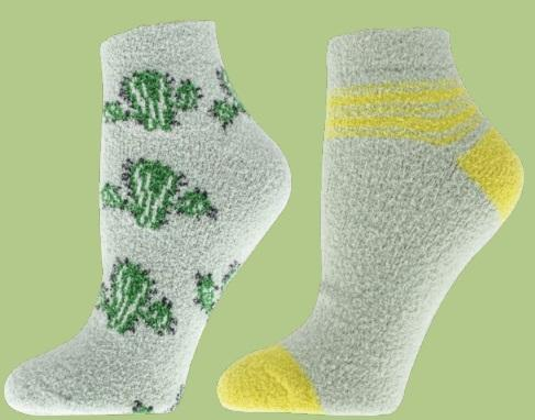 2 Pack Spring Fusion Therapy Spa Socks (Bonus Sachet Included)
