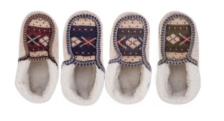 SUPER SNUGGLY SHERPA MOCCASIN SLIPPERS | Ships September 25