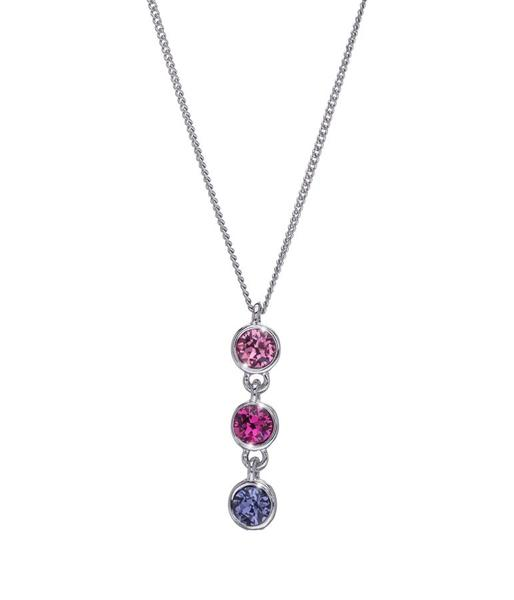 Mothers Day - 3 Drop Y Necklace With Swarovski Crystals