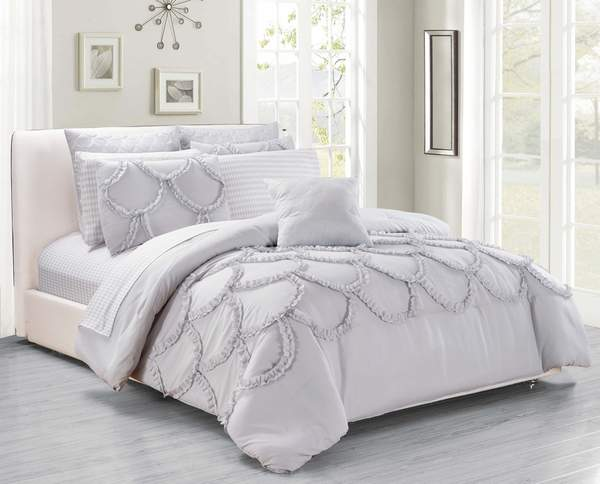 Deena 3PC Duvet Cover Set