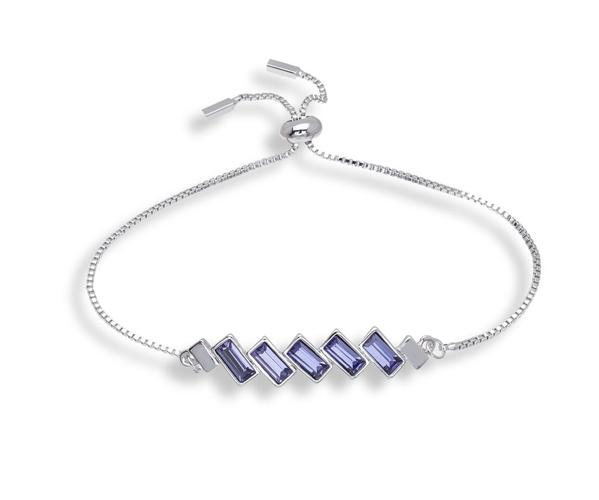 Mothers Day - Crystal Charm Adjustable Bracelet