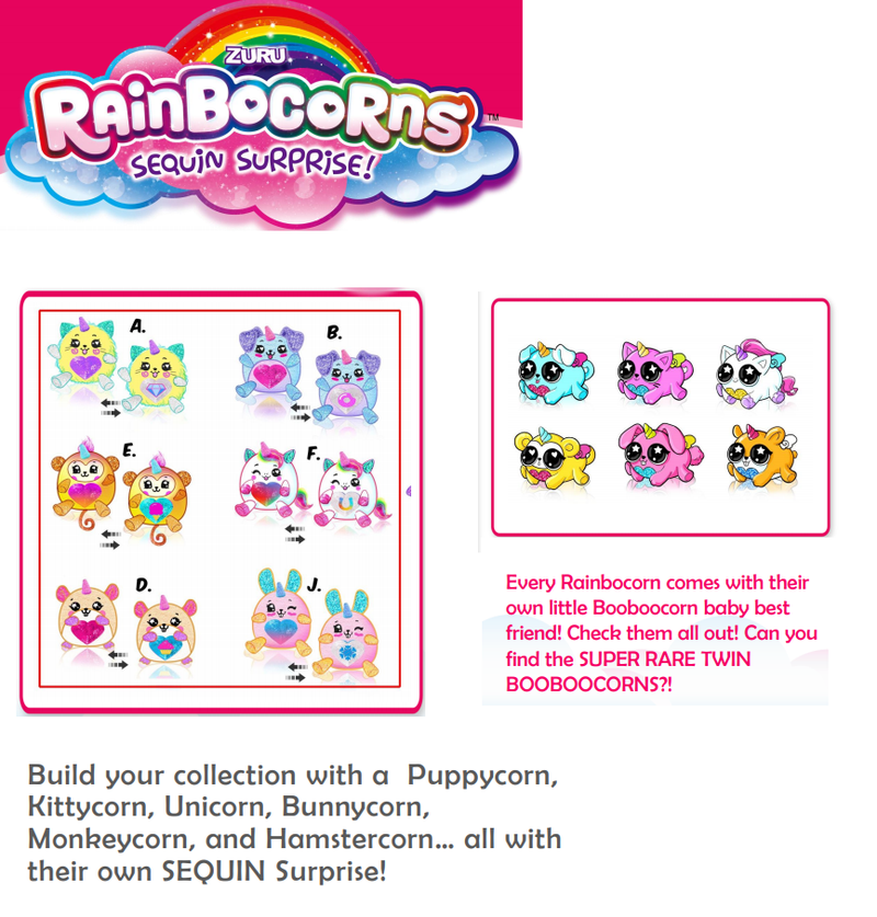 Rainbocorn Sequin Surprise - ORIGINAL