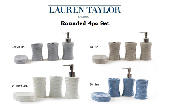 Lauren Taylor Rounded 4pc Set