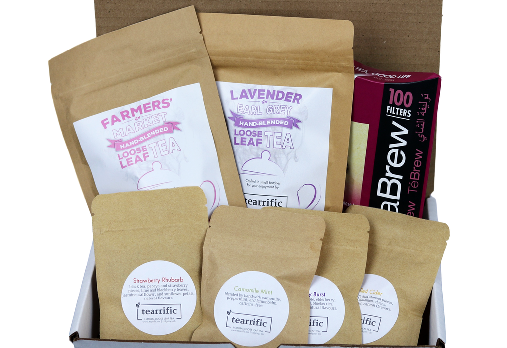 TEA LOVERS SAMPLE PACKAGE |  In-Stock, Ships Thursday