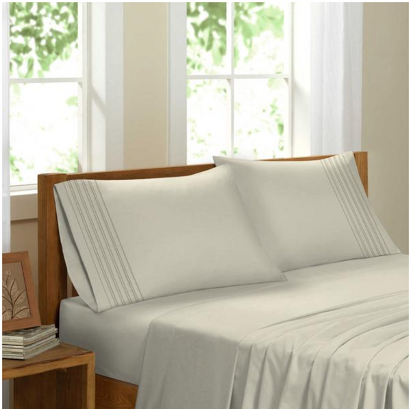 A Lakeshore Basics | Luxury Bamboo Feel Bed Sheets | In-Stock, Ships Thursday