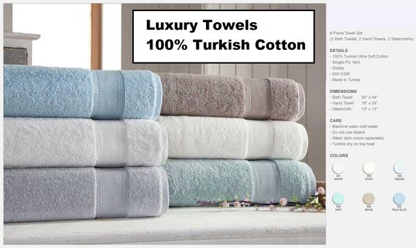 Luxury Bathroom Linens