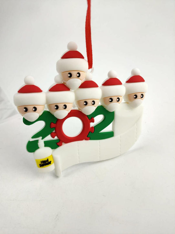 Quarantine Family 2020 Christmas Ornament | In-Stock, Ships Thursday