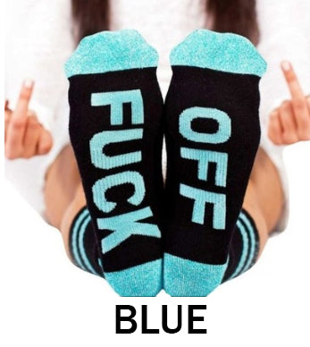 F-OFF SOCKS | Ships December 18