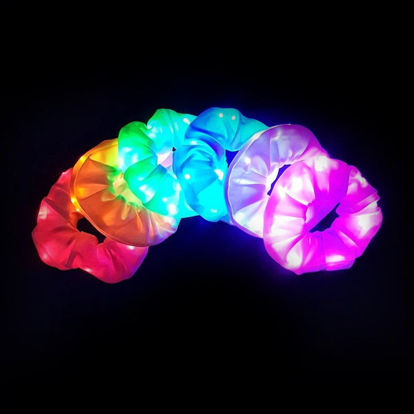 Light Up LED Scrunchies | In Stock, Ships Thursday