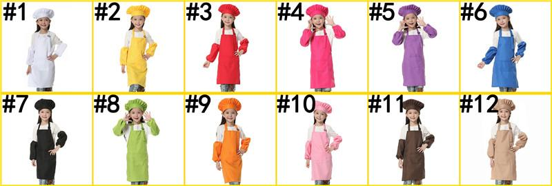Kids Chef Aprons + Hat
