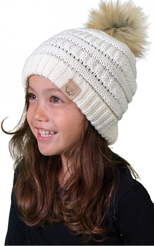 Kids Pom Pom Hat | In-Stock, Ships Thursday