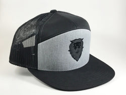 Blackout Snapback Cap - Savage Mane Beard Co.