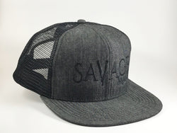 Mega Savage Snapback Cap - Savage Mane Beard Co.