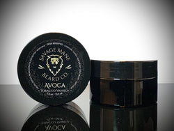AVOCA - Semi-Whipped Butter - Tobacco Vanilla - Savage Mane Beard Co.