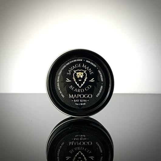 MAPOGO Cub - Beard Balm - Bay Rum - Savage Mane Beard Co.