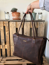 Full Leather Diaper / Lifestyle Tote