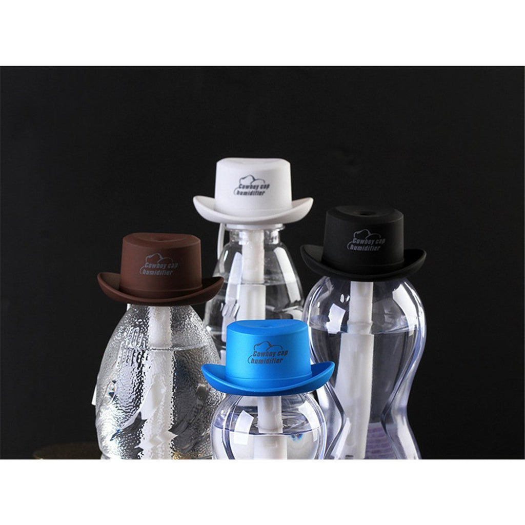 Cowboy Hat USB Mini Aromatherapy Essential Oil Ultrasonic Diffuser Humidifier