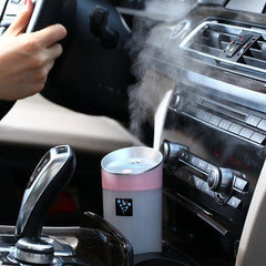 300ml USB Car Aromatherapy Essential Oil Ultrasonic Diffuser Humidifier