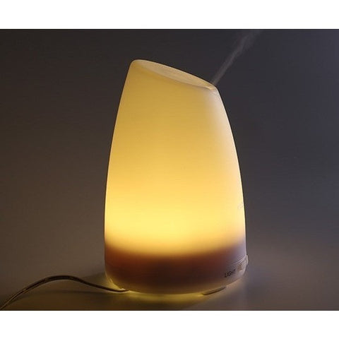 100ml Plug-In Slant Top 7 Color LED Lights Essential Oil Ultrasonic Diffuser Humidifier