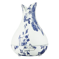 400ML Plug-In Tulip Model C Faux Blue Porcelain Diffuser