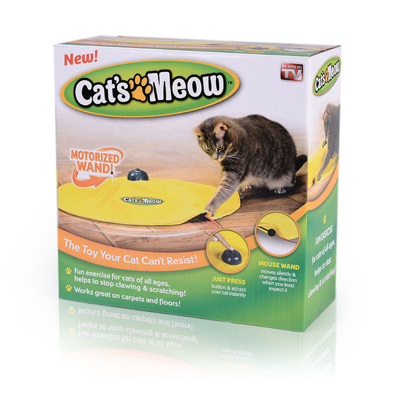 Interactive Mouse Play Cat Toy