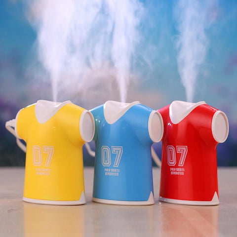 100ml USB Sports Jersey Design Aromatherapy Essential Oil Ultrasonic Diffuser Humidifier