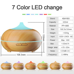 300ml Plug-In LED Tip Wood Grain Diffuser