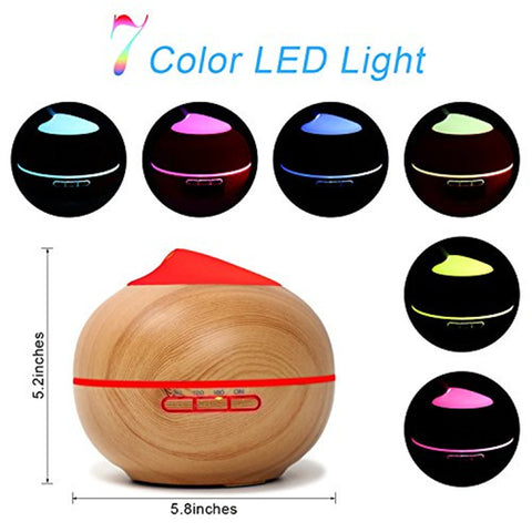 200ml USB LED Top Essential Oil Diffuser