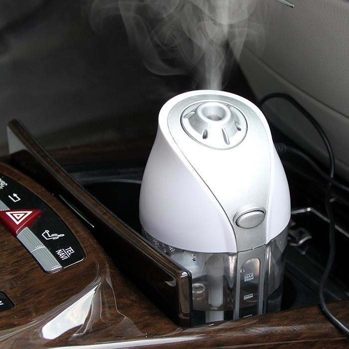 12V / USB 250ml Mini Car Aromatherapy Essential Oil Ultrasonic Diffuser Humidifier