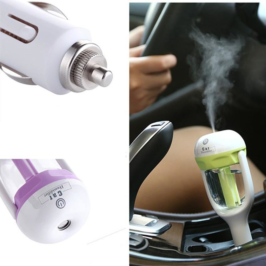 12V 50ml Car Aromatherapy Essential Oil Ultrasonic Diffuser Humidifier