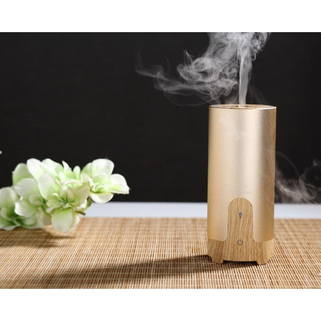 50ml Elegant Style Portable USB Car Aromatherapy Essential Oil Ultrasonic Diffuser Humidifier