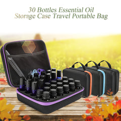 30 Bottles Essential Oil Travel Case