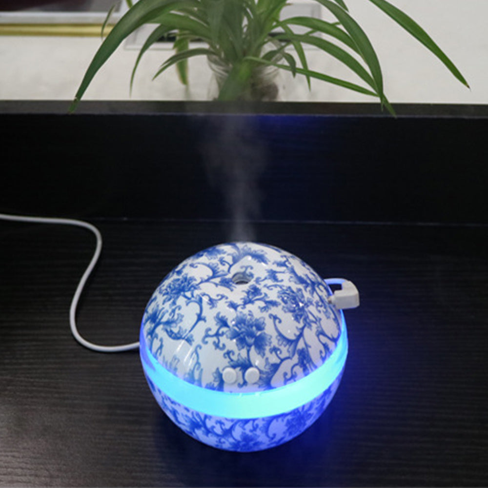 300ml USB Faux Porcelain Ultrasonic Diffuser