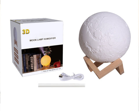 880ml USB Moon Lamp Style Essential Oil Diffuser