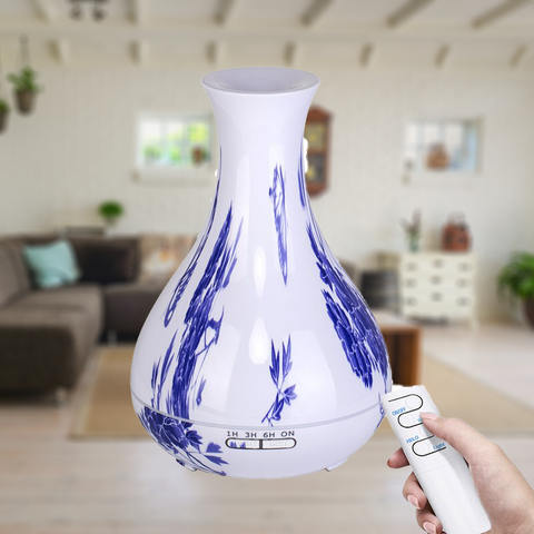 550ML Plug-In Faux Blue Porcelain Diffuser