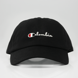 Colombia Champ Dad Hat - Black