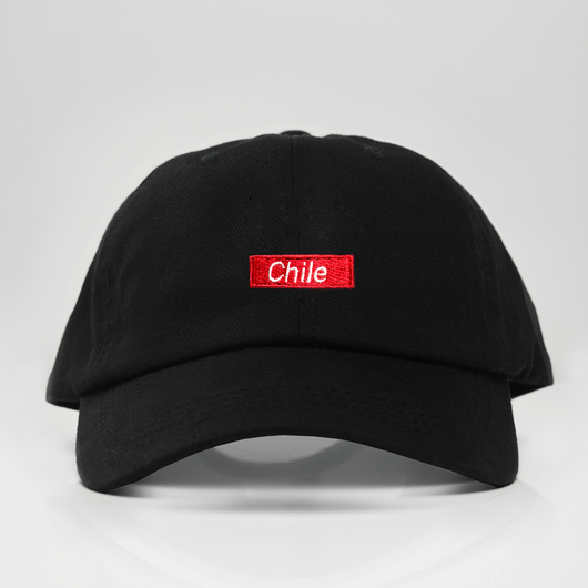 Chile Box Logo Dad Hat - Black