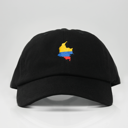 Colombia Dad Hat Black