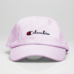 Colombia Champ Dad Hat - Pink