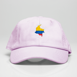 Colombia La Tierrita Dad Hat - Pink