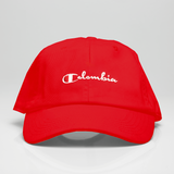 Colombia Champ Dad Hat - Red *LIMITED*