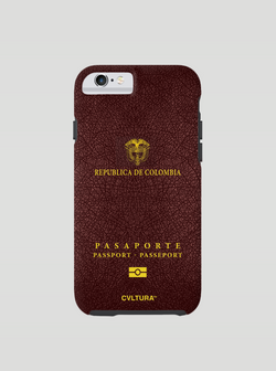 Colombia Passport Cell Phone Case
